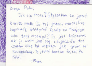 Letter to Pola by Maya